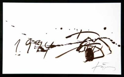 1994 by Antoni Tapies at