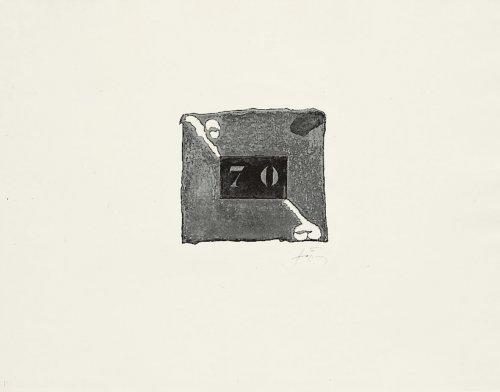 70 by Antoni Tapies