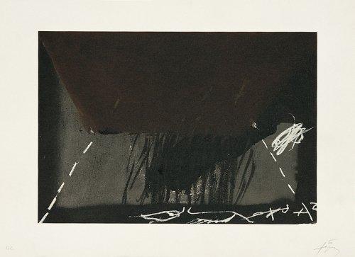 Clau-12 by Antoni Tapies