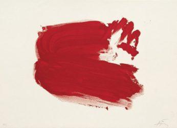Clau-4 by Antoni Tapies at