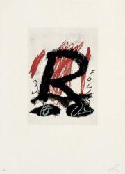 Clau-5 by Antoni Tapies at