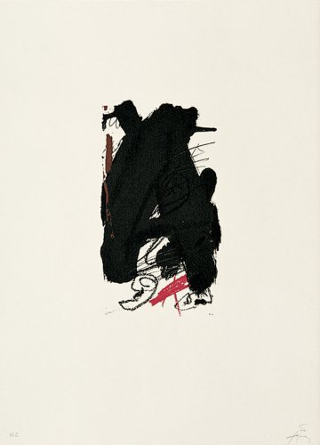 Clau-6 by Antoni Tapies