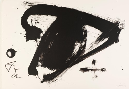 Composition 1992 by Antoni Tapies