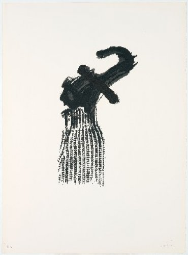 Llambrec-10 by Antoni Tapies
