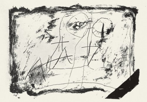 Llambrec-11 by Antoni Tapies