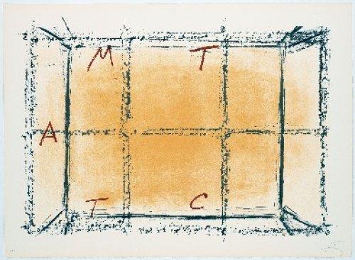 Llambrec-18 by Antoni Tapies