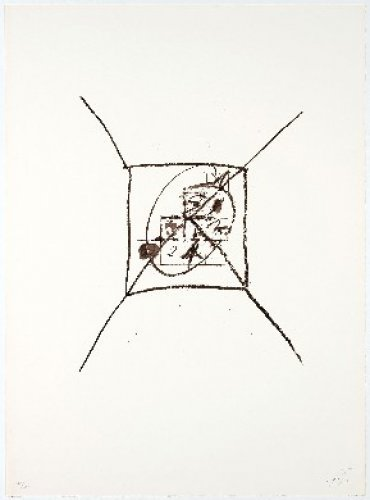 Llambrec-9 by Antoni Tapies
