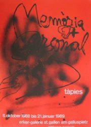 Memòria Personal by Antoni Tapies at