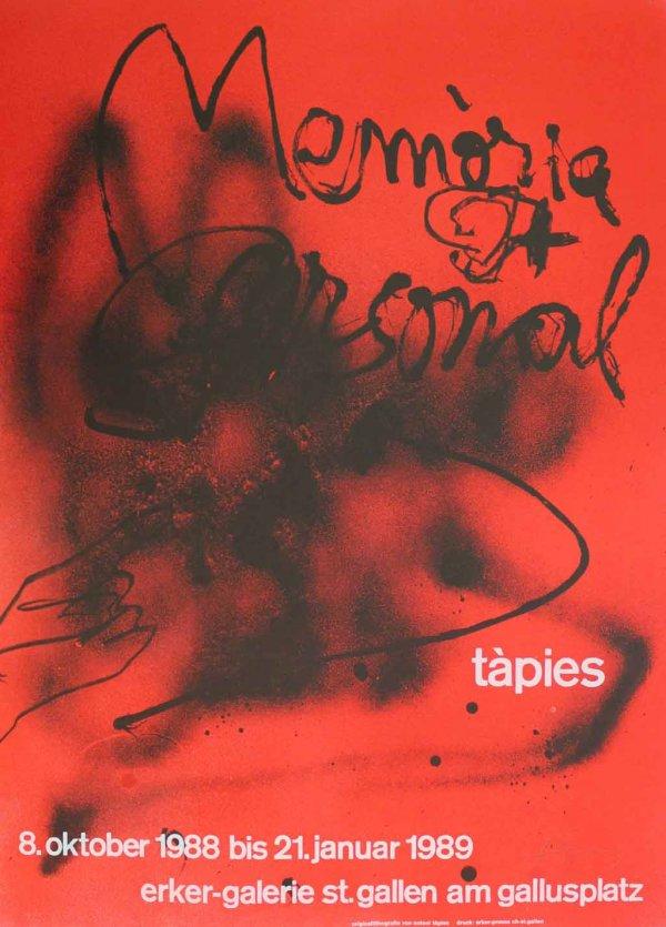 Memòria Personal by Antoni Tapies