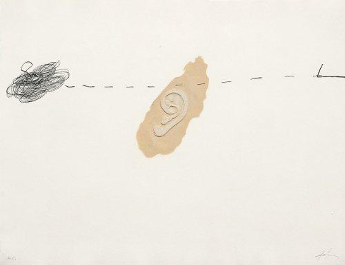 Orella by Antoni Tapies