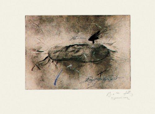 Petjades I Signatures by Antoni Tapies