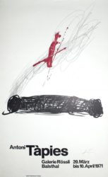 Untitled by Antoni Tapies at