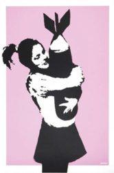 Bomb Hugger by Banksy at Lieberman Gallery