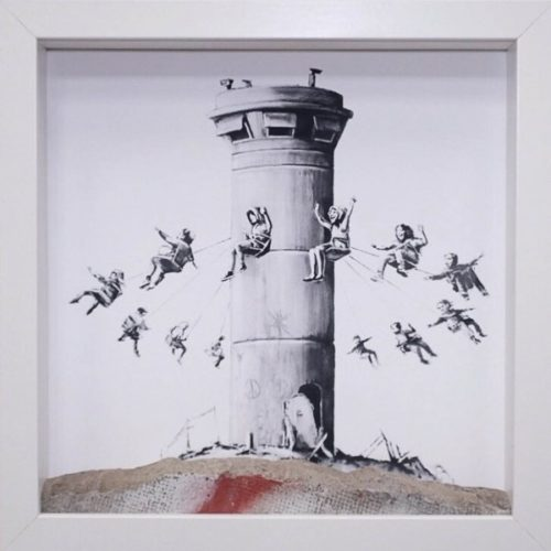 Walled Off Hotel Boxset by Banksy