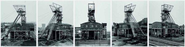 Forderturm Zeche Waltrop by Bernd & Hilla Becher at