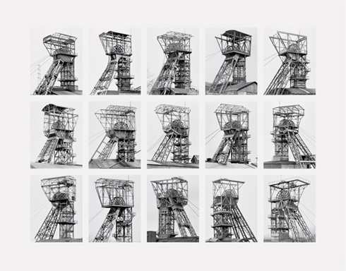 Winding Towers by Bernd & Hilla Becher at