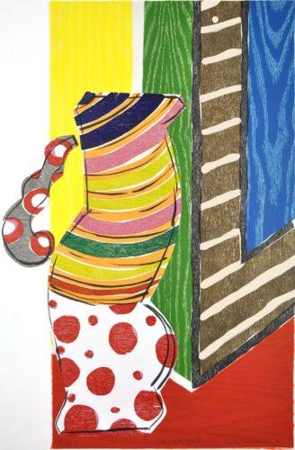 """polka Dot Skirt"" by Betty Woodman"