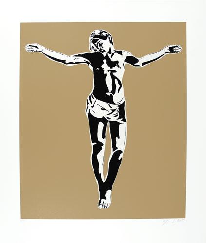 Jesus by Blek Le Rat at