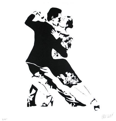 Last Tango by Blek Le Rat at