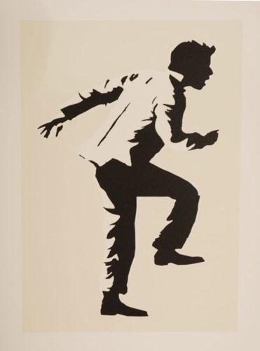 Running Man by Blek Le Rat at