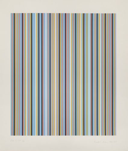 Edge Of Light by Bridget Riley at