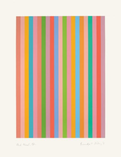 And About by Bridget Riley at