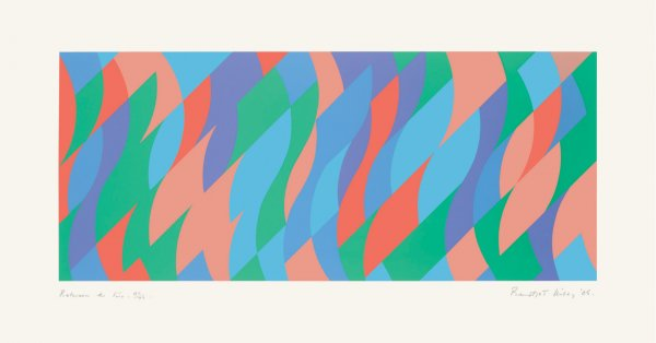 Between The Two by Bridget Riley at