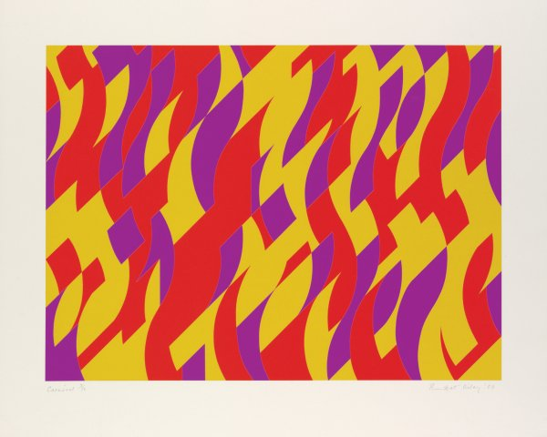 Carnival by Bridget Riley