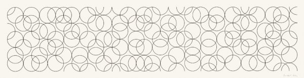 Composition With Circles 4 by Bridget Riley at