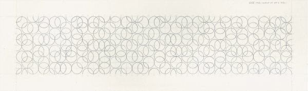 Composition With Circles 6 by Bridget Riley at