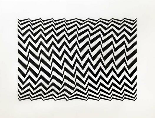 Fragment 3 by Bridget Riley