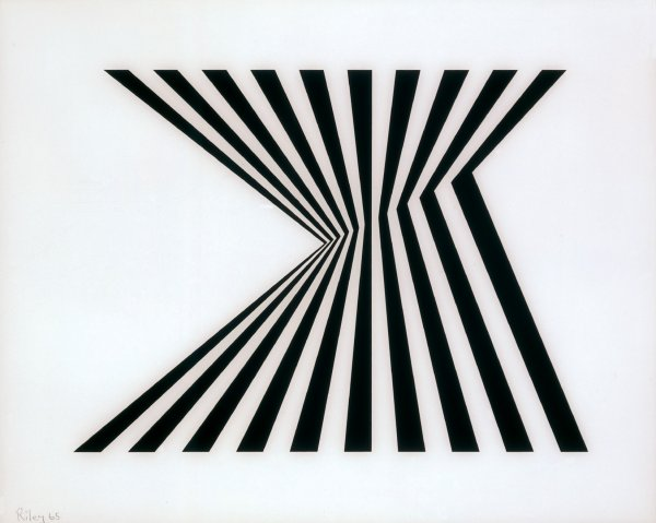 Untitled [fragment 1] by Bridget Riley at