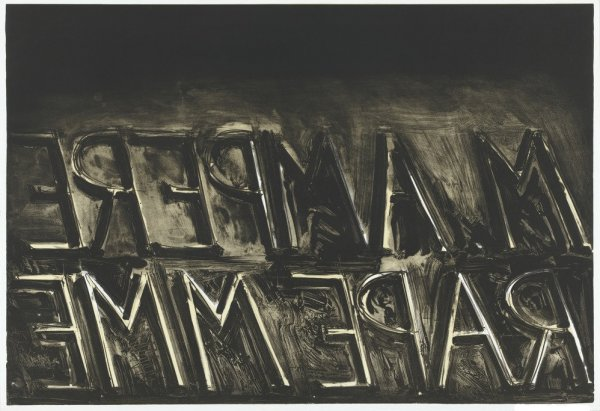 M. Ampere by Bruce Nauman at