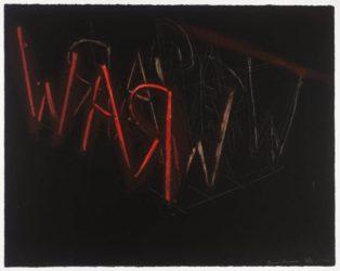 Raw War by Bruce Nauman at