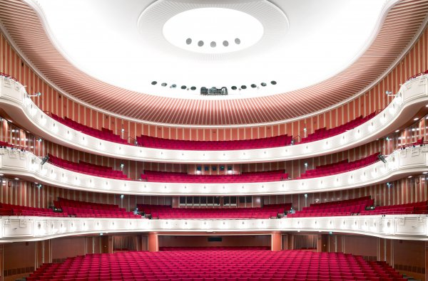 Deutsche Oper Am Rhein Düsseldorf by Candida Hofer at