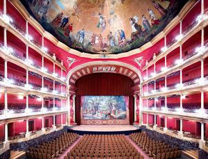 Teatro Degollado Guadalajara Iii by Candida Hofer at