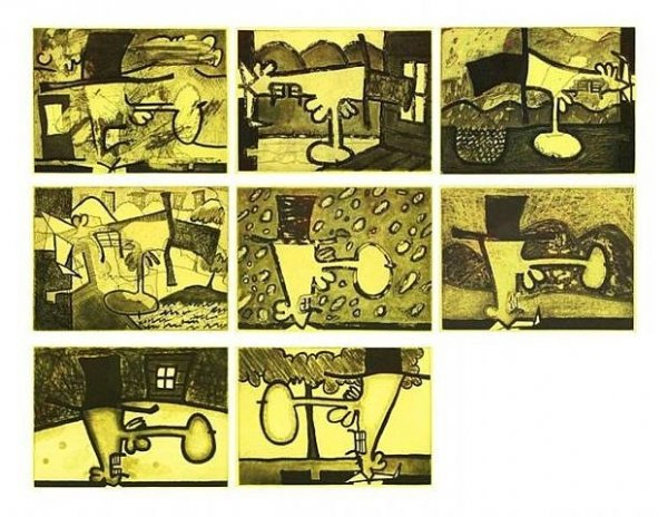 Atmospherics by Carroll Dunham
