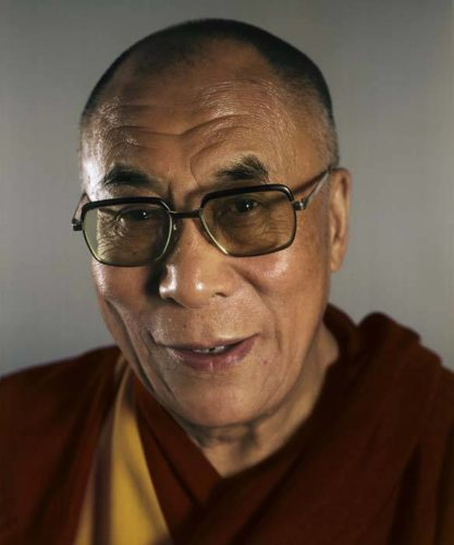 Dalai Lama by Chuck Close at Kenneth A. Friedman & Co.