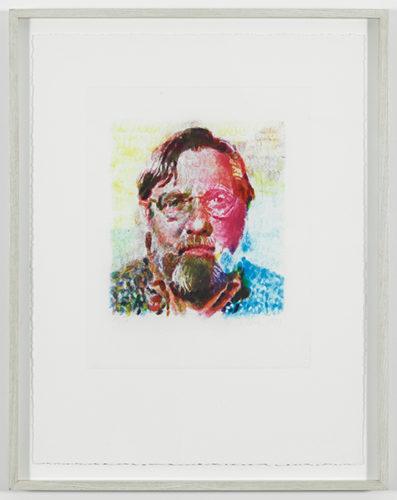 John II by Chuck Close