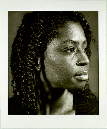 Lorna by Chuck Close