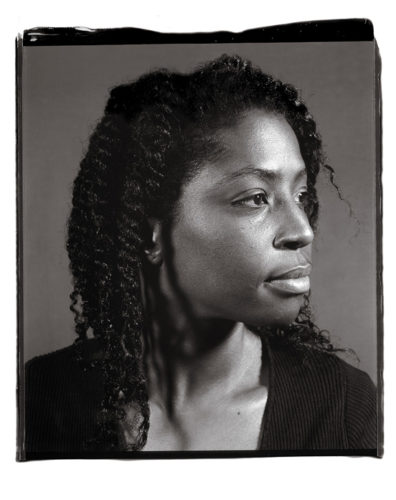 Lorna Simpson by Chuck Close at Kenneth A. Friedman & Co.