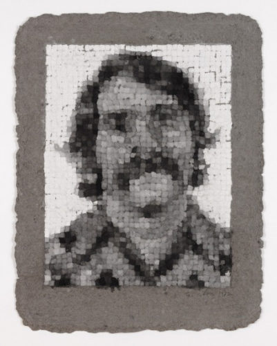 Robert Manipulated by Chuck Close at Chuck Close