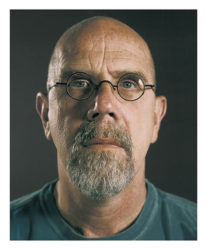 Untitled (self-portrait) by Chuck Close at Kenneth A. Friedman & Co.