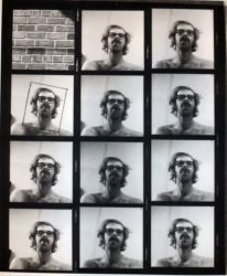 Untitled (self-portrait Contact Sheet) by Chuck Close at Kenneth A. Friedman & Co.