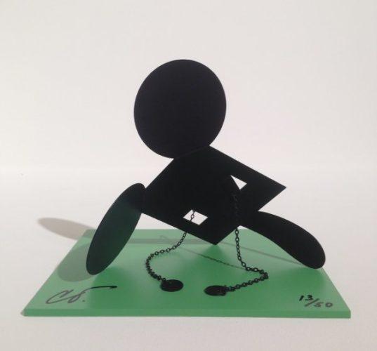 """Geometric Mouse Scale E """"desktop"""" by Claes Oldenburg"""