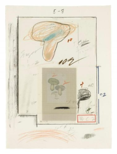 Natural History Part I N° III by Cy Twombly
