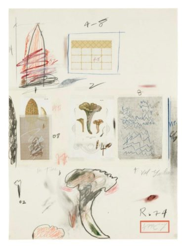 Natural History Part I N° VI by Cy Twombly
