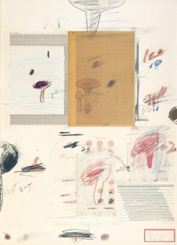 Natural History Part I  N° IV by Cy Twombly