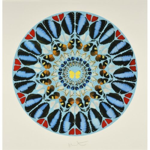 Ad Te, Domine, Levavi (diamond Dust) by Damien Hirst