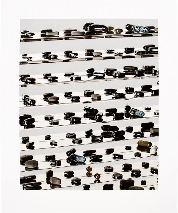 Black Brilliant Utopia by Damien Hirst
